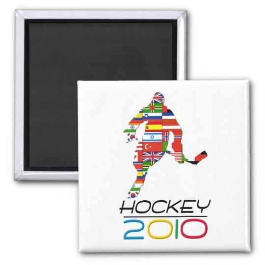 2010: Hockey Square Magnet
