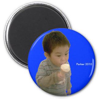 2010 Ice Cream 6 Cm Round Magnet