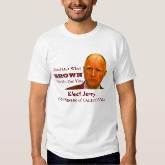 2010 Jerry Brown T-Shirt