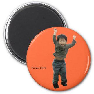 2010 Jump 6 Cm Round Magnet