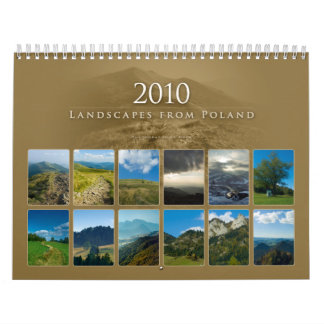 2010 Landscapes from Poland - Calendar