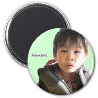 2010 Life Jacket 6 Cm Round Magnet