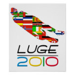 2010: Luge Posters