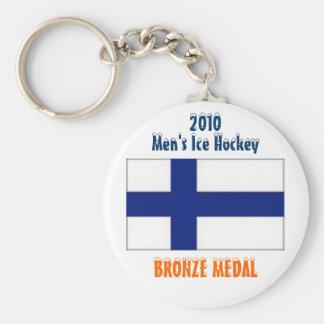 2010 Men s Ice Hockey - Bronze Medal Key Chain