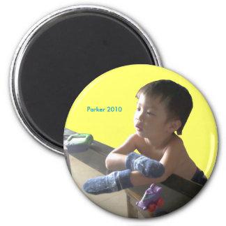 2010 Mittens 6 Cm Round Magnet