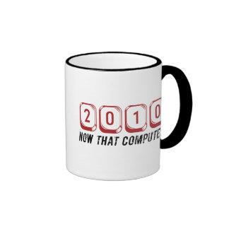 2010 Now that Computes Mug