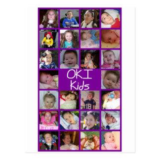 2010 OKI Kids Post Cards