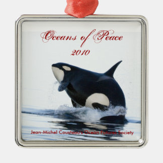 2010 Orca Holiday Ornament