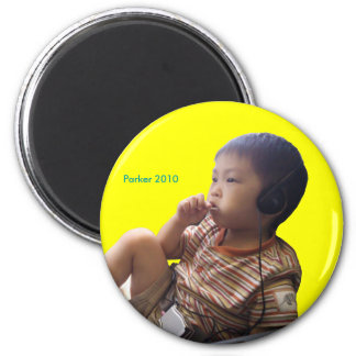 2010 Passenger 6 Cm Round Magnet