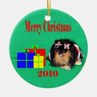 2010 peb 2 christmas ornament