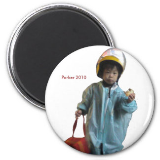 2010 Rainjacket 6 Cm Round Magnet