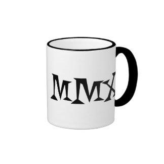 2010 Roman Style Ringer Mug