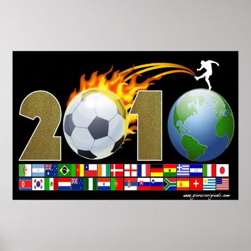 2010 - SA - World Poster