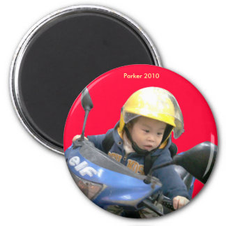 2010 Scooter 6 Cm Round Magnet