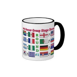 2010 Soccer Ringer Mug