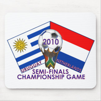 2010 Soccer Semi-Final Championship Game Mouse Pad