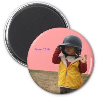 2010 Softball 6 Cm Round Magnet