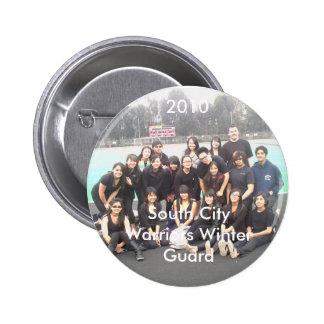 2010 South City Warriors Winter Guard Button
