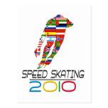 2010: Speed Skating Post Card