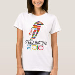 2010: Speed Skating T-Shirt