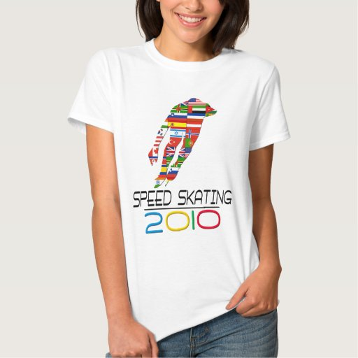 2010: Speed Skating T-shirts