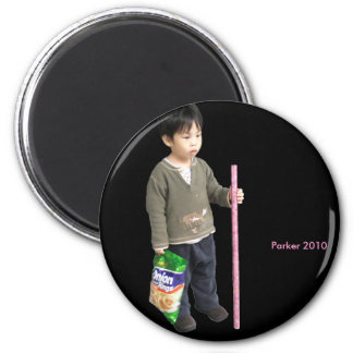 2010 Staff 6 Cm Round Magnet