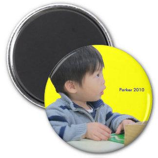 2010 Student 6 Cm Round Magnet