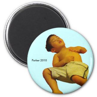 2010 Summer 6 Cm Round Magnet