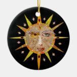 2010 Sun Mandala Ornament