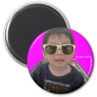 2010 Sunglasses 6 Cm Round Magnet