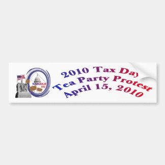 2010 Tax Day Tea Party Protest – Lincoln Memorial Bumper Sticker