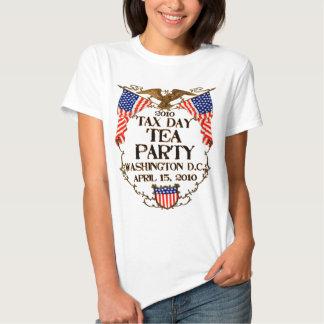 2010 Tax Day Tea Party Tee Shirts