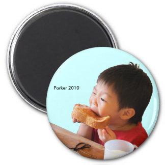 2010 Toast 6 Cm Round Magnet