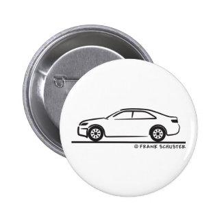 2010 Toyota Camry 6 Cm Round Badge