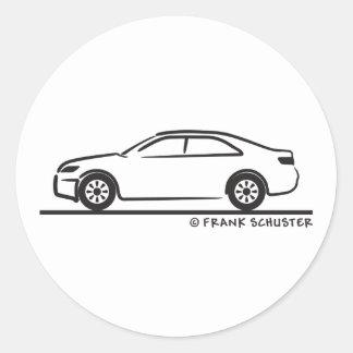 2010 Toyota Camry Round Stickers