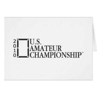 2010 U.S. Amateur Championship Card
