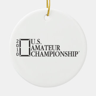 2010 U.S. Amateur Championship Christmas Ornament