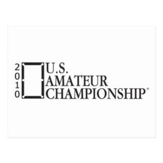 2010 U.S. Amateur Championship Postcard