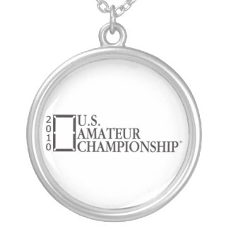 2010 U.S. Amateur Championship Silver Plated Necklace