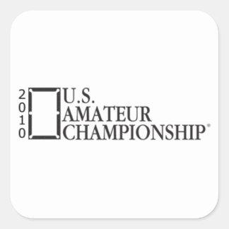 2010 U.S. Amateur Championship Square Sticker