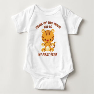 2010 Year of The Tiger Baby Baby Bodysuit