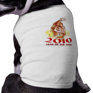2010 Year of the Tiger Gifts Sleeveless Dog Shirt