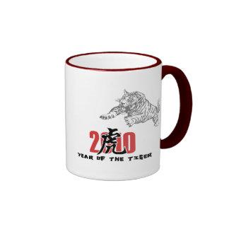 2010 Year of The Tiger Coffee Mugs