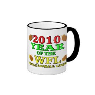 2010 Year Of The WFL Ringer Mug