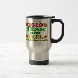 2010 Year Of The WFL Stainless Steel Travel Mug