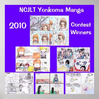 2010 Yonkoma Manga Winners Print