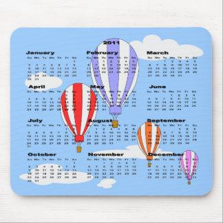 2011 Ballon Calendar Mousepad