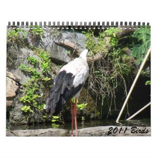 2011 Birds Calendar
