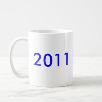 2011 Bride :-) Basic White Mug