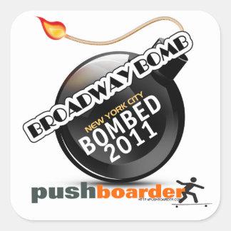 2011 Broadway Bomb Sticker